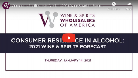 Consumer Resilience in Alcohol: 2021 Wine & Spirits Trends