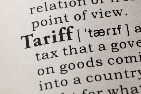 Tariffs definition
